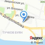 БалтСтройМонтаж на карте Санкт-Петербурга