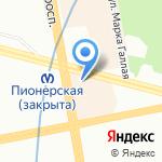 Магазин женской верхней одежды и обуви на карте Санкт-Петербурга