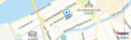 Детский сад №8 на карте Санкт-Петербурга