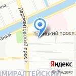 Поснов и Партнёры на карте Санкт-Петербурга