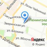 Технический Экологический Консалтинг на карте Санкт-Петербурга