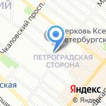 Паштейш & Кофе на карте Санкт-Петербурга