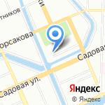 ARTxPRO на карте Санкт-Петербурга