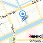 Relax House на карте Санкт-Петербурга