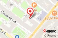 Схема проезда до компании Добрый Вестник в Санкт-Петербурге
