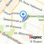 Хмельной бочонок на карте Санкт-Петербурга