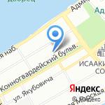 Сегвей СПб на карте Санкт-Петербурга