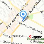 Аква-РУС на карте Санкт-Петербурга