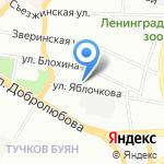 Северо-Западная государственная инспекция пробирного надзора на карте Санкт-Петербурга