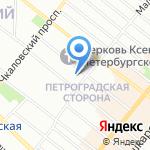 Палитра красоты на карте Санкт-Петербурга
