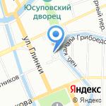 Quattro Pareti на карте Санкт-Петербурга