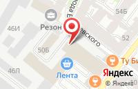 Схема проезда до компании Инсанта в Санкт-Петербурге