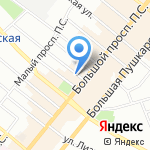 Diplomat на карте Санкт-Петербурга