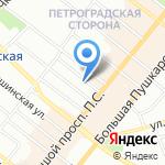 Al dente на карте Санкт-Петербурга