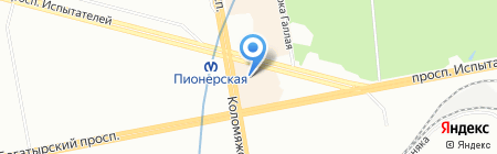 TourPay на карте Санкт-Петербурга