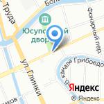 Мука на карте Санкт-Петербурга