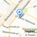 Детский сад №93 на карте Санкт-Петербурга