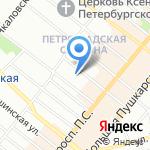 Игрушки Дома на карте Санкт-Петербурга