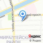 АРМОБЕТОН на карте Санкт-Петербурга