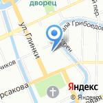 Генеральное консульство Италии в г. Санкт-Петербурге на карте Санкт-Петербурга
