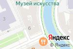 Схема проезда до компании Gladstone в Санкт-Петербурге