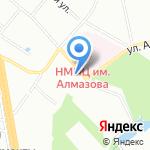 Коломяги-Старт на карте Санкт-Петербурга