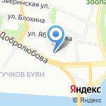 Межмуниципальный отдел МВД РФ на особо важных и режимных объектах на карте Санкт-Петербурга