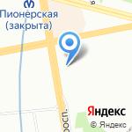 Абарис на карте Санкт-Петербурга
