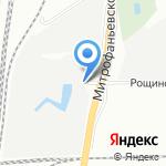 Компания по изготовлению мебели под заказ на карте Санкт-Петербурга