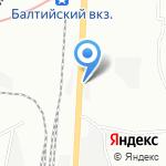 Спортуголок на карте Санкт-Петербурга
