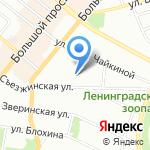 Happy nails на карте Санкт-Петербурга