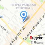 22.13 GIFT на карте Санкт-Петербурга