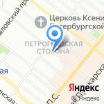 Юристы на Гатчинской на карте Санкт-Петербурга