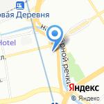 Галант на карте Санкт-Петербурга