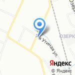 Адиван на карте Санкт-Петербурга