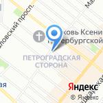 Паскаль на карте Санкт-Петербурга