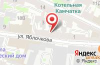 Схема проезда до компании Петроградское в Санкт-Петербурге