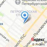 Дом культуры им. В.А. Шелгунова на карте Санкт-Петербурга