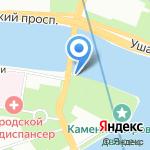 Часовня во имя иконы Божией Матери Всецарица на карте Санкт-Петербурга