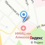 Федеральный специализированный перинатальный центр на карте Санкт-Петербурга