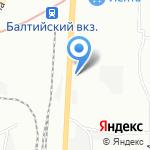 Вентерм на карте Санкт-Петербурга