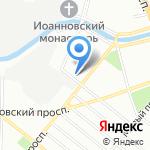 Антраверс-Сервис на карте Санкт-Петербурга