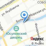 Ремар на карте Санкт-Петербурга