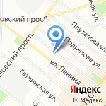 Brightwell на карте Санкт-Петербурга