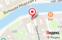 Схема проезда до компании Еврометалл-Групп в Санкт-Петербурге