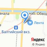 Terra на карте Санкт-Петербурга