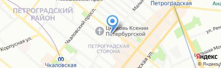 Куафюр на карте Санкт-Петербурга