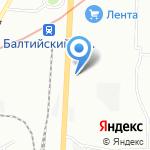 Промет-Санкт-Петербург на карте Санкт-Петербурга