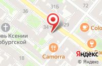 Схема проезда до компании Опорный пункт полиции в Ишеевке