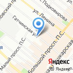 Промэлектроника на карте Санкт-Петербурга